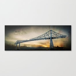 Steel Icon Canvas Print