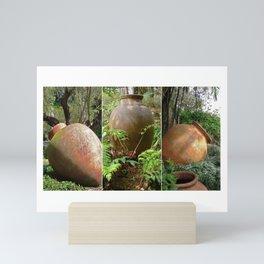 Urns Triptych Mini Art Print