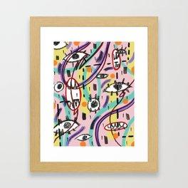 EyesEyesBaby Framed Art Print