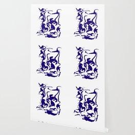 face9 blue Wallpaper