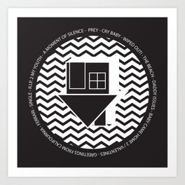 NBHD Wiped Out! Art Print