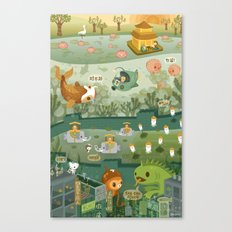 The Octonauts Explore the East Canvas Print