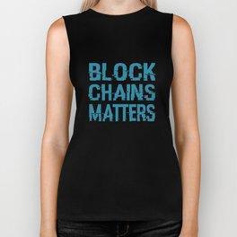 Blockchain Matters Movement Biker Tank