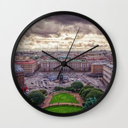 Saint Petersbourg City in Russia Wall Clock