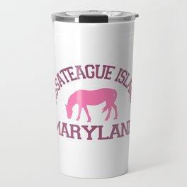 Assateague Island - Maryland. Travel Mug