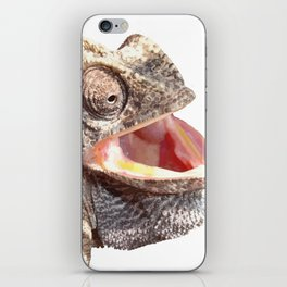 Chameleon with Happy Smiling Expression Vector iPhone Skin