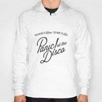 panic at the disco Hoodies featuring Panic! At The Disco Album Artwork by marinasdiamonds