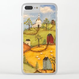 The 4 Hills Clear iPhone Case