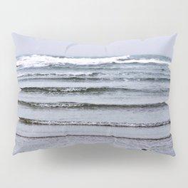 Winter Rippling Waves Pillow Sham