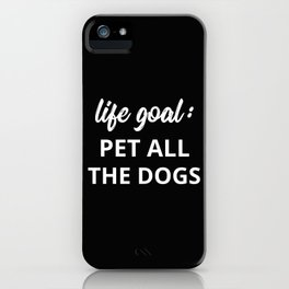 The Dog Lover II iPhone Case
