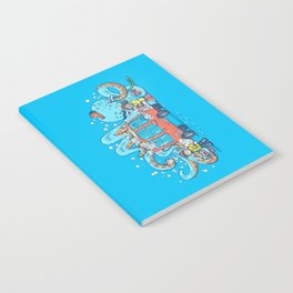 Octopus Carwash Notebook