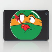 watchmen iPad Cases featuring Who Watches the Pizza? by Moysche Designs