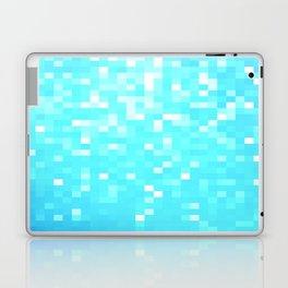 turquoise Pixel Sparkle Laptop & iPad Skin