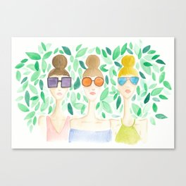 Sunnies Canvas Print