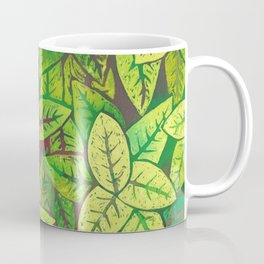 Spring leaves Coffee Mug