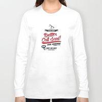 better call saul Long Sleeve T-shirts featuring Better Call Saul by Krikoui