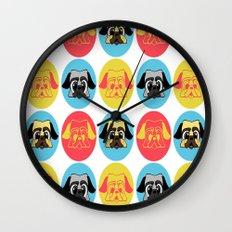 pugpug Wall Clock