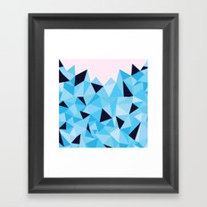 Ab Topaz Framed Art Print