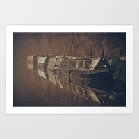 rustic Art Prints featuring Rustic by Mark Bagshaw Photography