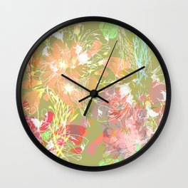Delicate bouquet Wall Clock