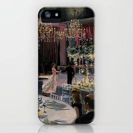 Allison & Brandon's Wedding iPhone Case