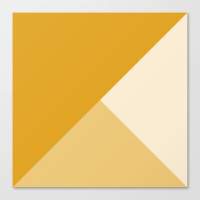 Mustard Tones Leinwanddruck