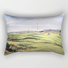 Royal Troon Golf Course Scotland Rectangular Pillow