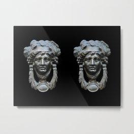 Nice pair of knockers Metal Print