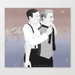 Mystrade - Not a Prince Charming Canvas Print
