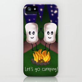 Let's Go Camping! iPhone Case