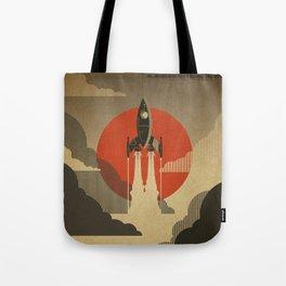 The Voyage (Grey) Tote Bag