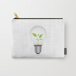 Light Bulb Plant Carry-All Pouch