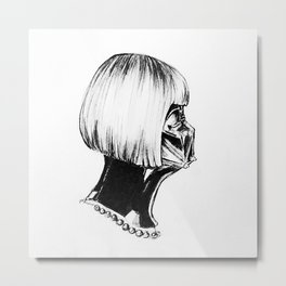 Darth Wintour Metal Print
