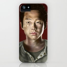 Glenn Rhee from Walking Dead iPhone Case