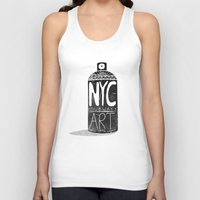 nyc Tank Tops featuring NYC 1972 by Farnell