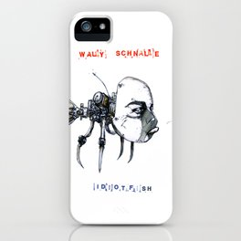 idiotfish (wally schnalle edition) iPhone Case