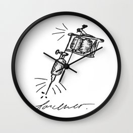 Tattoo Forever Wall Clock
