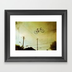 High Wire Framed Art Print