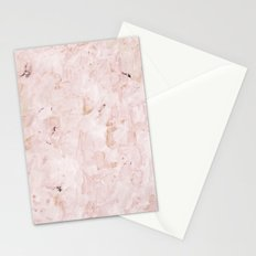 abstract-soft pink Stationery Cards
