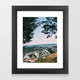 Framed with Nature Framed Art Print
