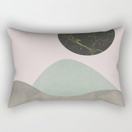 Stones and moon Rectangular Pillow