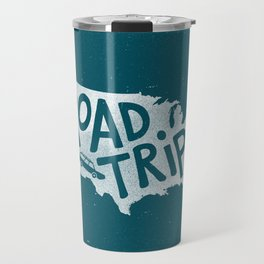 Road Trip USA - reverse Travel Mug
