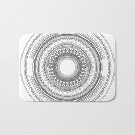 Medallion Mandala Bath Mat