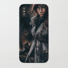 Lightning from Final Fantasy 13 Painting Slim Case iPhone X