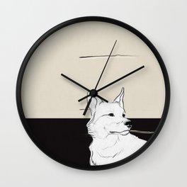 Lost Dog Wall Clock