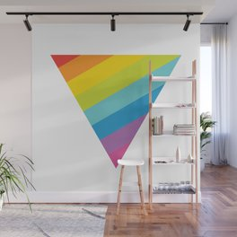 Pride: Rainbow Triangle Wall Mural