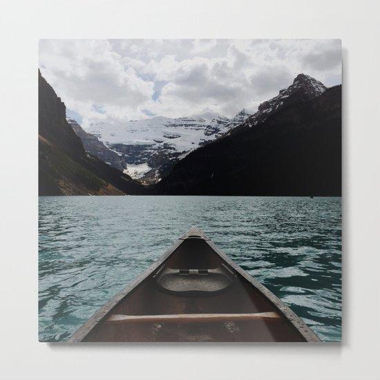 Canoe Metal Print