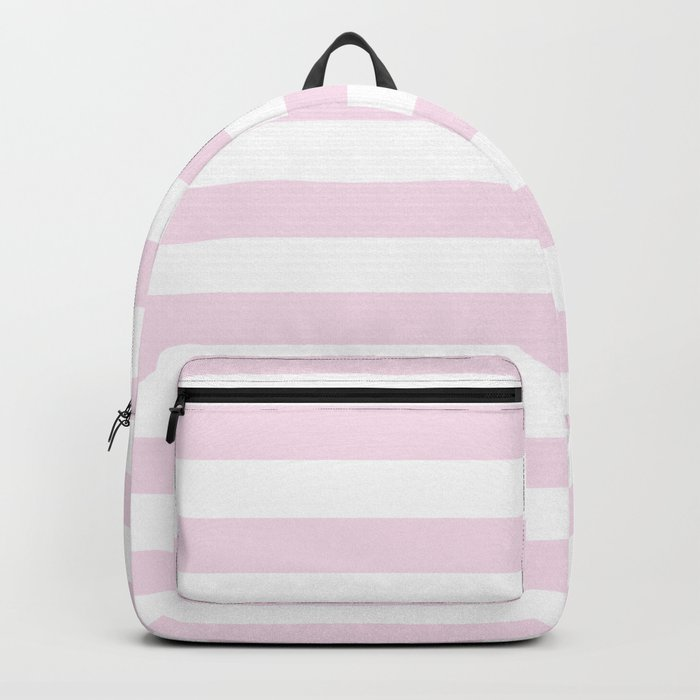 Simply Striped in Desert Rose Pink Backpack
