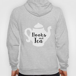 Books and Tea - Inverted Hoody