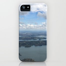 Winding My Way Through Chattanooga  iPhone Case